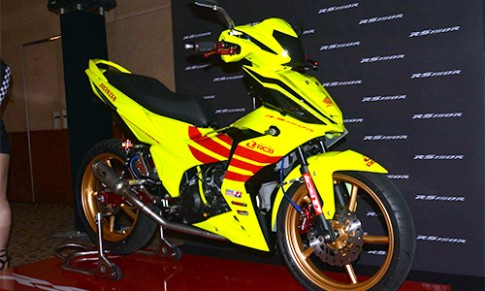 Chi tiet Honda RS150R do Racing Boy o Malaysia