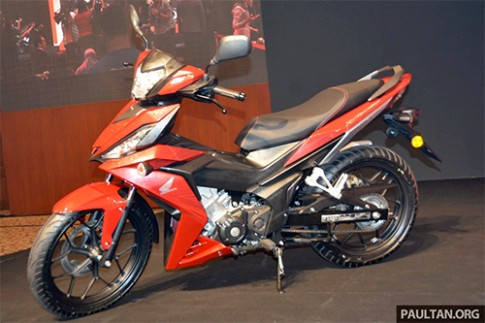 Chi tiết Honda RS150R ra mắt tại Malaysia