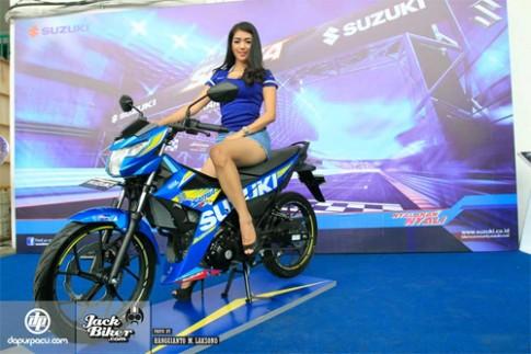 Chi tiet Suzuki Satria F150 Fi the he moi