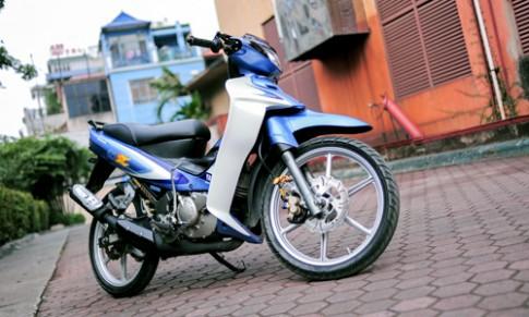 Chi tiết Yamaha 125Z độ về 'zin' tại Hà Nội