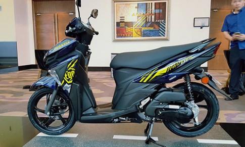 Chi tiết Yamaha Ego Avantiz 2016 ra mắt tại Malaysia