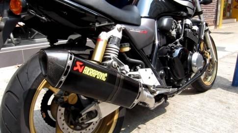 [Clip] Tong hop am thanh cac loai po do tren Honda CB400