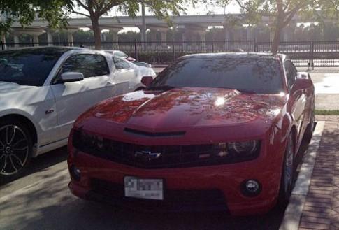 Dan sieu xe tai truong dai hoc My o Dubai