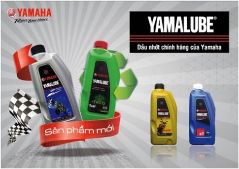 Dầu nhớt chuyên biệt cho xe máy của Yamaha