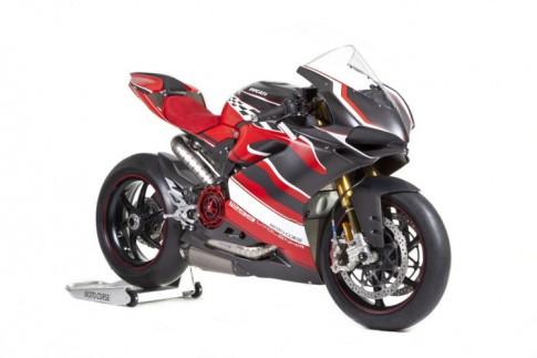 Ducati 1299 Panigale Lyolenka - su trau chuot den tu Motocorse