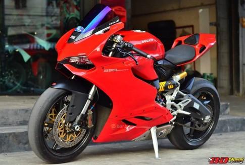 Ducati 899 Panigale cực chất trong bản độ siêu khủng