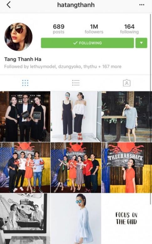 Dừng hoạt động showbiz, Hà Tăng vẫn cán mốc 1 triệu người theo dõi
