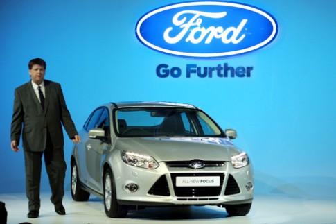 Ford trình làng Focus thế hệ mới