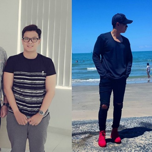 Giam 20kg trong 5 thang, chang 19 tuoi gay sot voi ngoai hinh hot boy