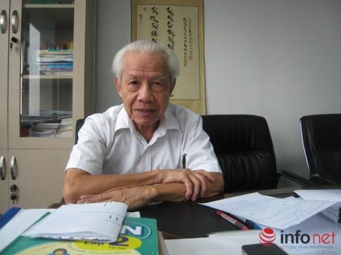 GS Ho Ngoc Dai: Cho tre di hoc chu truoc la rat te