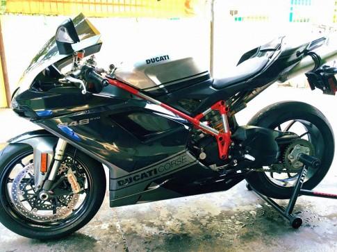 Hang hiem Ducati 848 Evo cung ve dep hoan hao