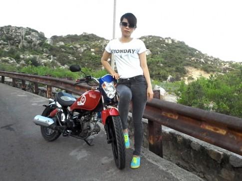 Harley-Davidson tu che cua tho go boi Binh Dinh