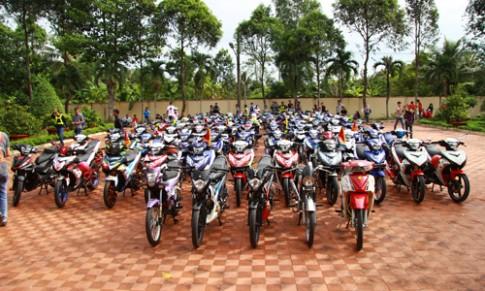 Hon 200 xe Exciter hoi tu o Tien Giang