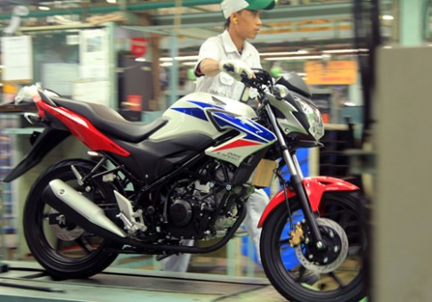 Honda CB150R Streetfire 2014 xuat hien