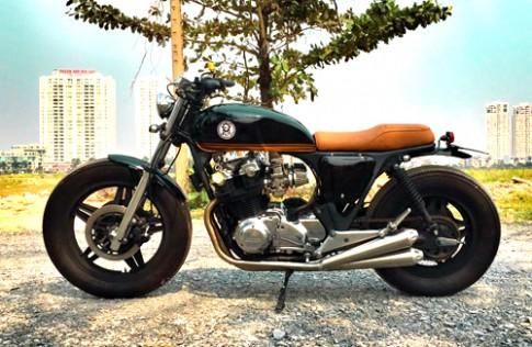 Honda CB750 co dien cua dan choi dao Phu Quoc