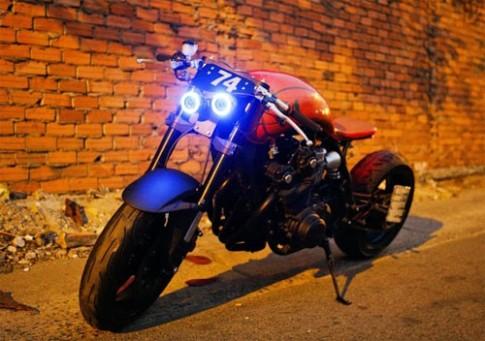 Honda CB750F do cafe racer cua chang trai tuoi Ngo
