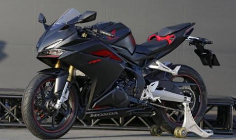 Honda CBR250RR 2017 - thiet ke cham nguong superbike