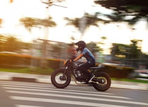 Honda CG125 do cafe racer cua sinh vien Sai thanh