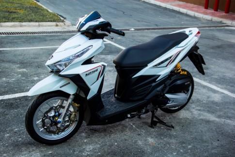Honda Click 125i trang tinh khoi day ca tinh