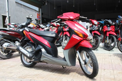 Honda Click đời 2008 – xe cũ giữ giá 18 triệu đồng