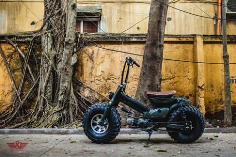 Honda Cub 'King Kong' phien ban Viet