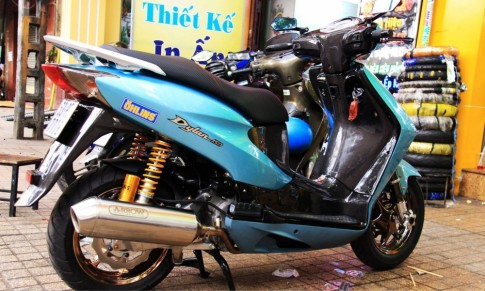 Honda Dylan xanh ngoc day gia tri