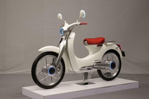 Honda EV-Cub - tương lai của huyền thoại Cub