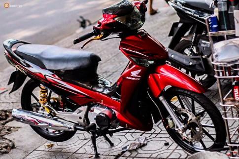 Honda Future X độ đầy phong cách của dân chơi Việt