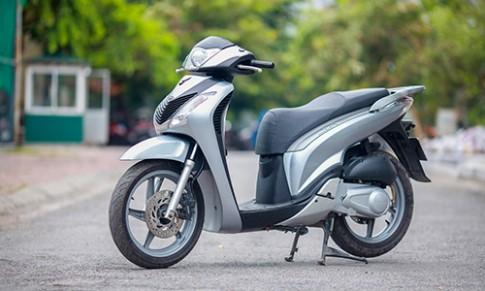 Honda SH 125i nhap doi 2011 - xe choi mot thoi tai Ha Noi