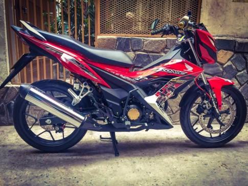 Honda Sonic 150 day an tuong qua cac phu kien do choi hang hieu