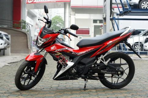 Honda Sonic 150R - doi thu Suzuki Raider o Ha Noi