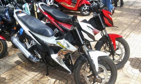 Honda Sonic - doi thu Suzuki Raider ve Viet Nam