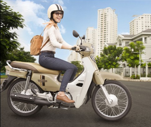 Honda Super Dream 110 moi gia 19 trieu