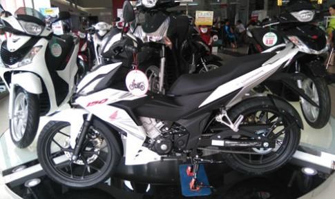 Honda Winner khan hàng, Yamaha Exciter 'đội' giá cao
