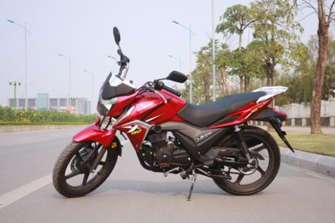 Honda X-150 - con tay moi cho khach hang Viet
