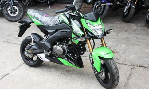 Kawasaki Z125 ban dac biet KRT Edition ve Viet Nam
