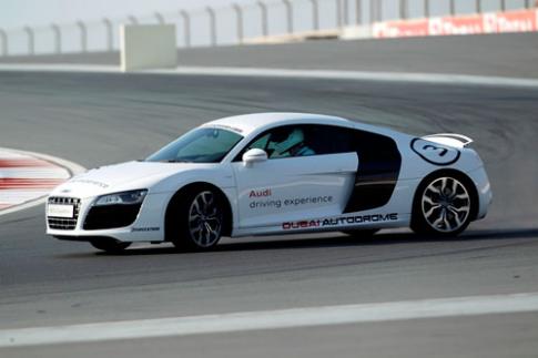 Lai thu xe the thao Audi tai Dubai