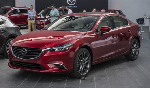 Mazda6 2017 ra mat - loi de doa Toyota Camry