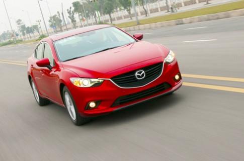 Mazda6 moi - thach thuc Camry Viet