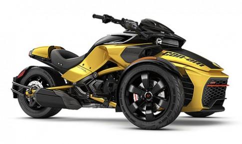 Moto ba banh Can-Am Spyder F3-S them ban nang cap