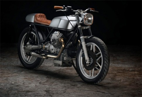 "Moto Guzzi ""V50"" - cafe racer khong the don gian hon"