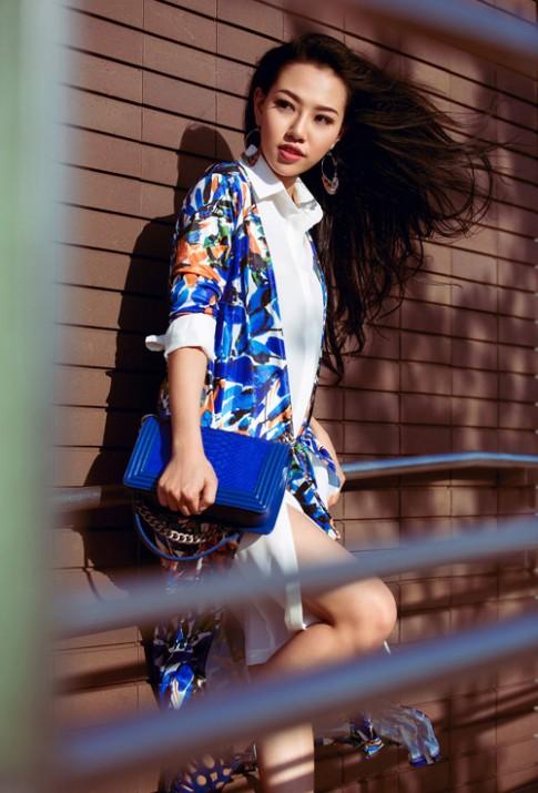 Muon mac ao bomber dep hay ngam hot girl Joxy Thuy Linh ngay lap tuc