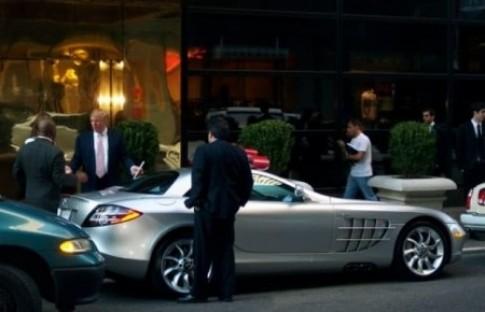 Nhung mau xe ua thich cua Donald Trump