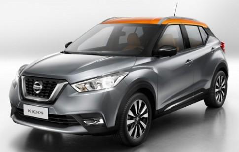 Nissan Kicks - doi thu moi Honda HR-V