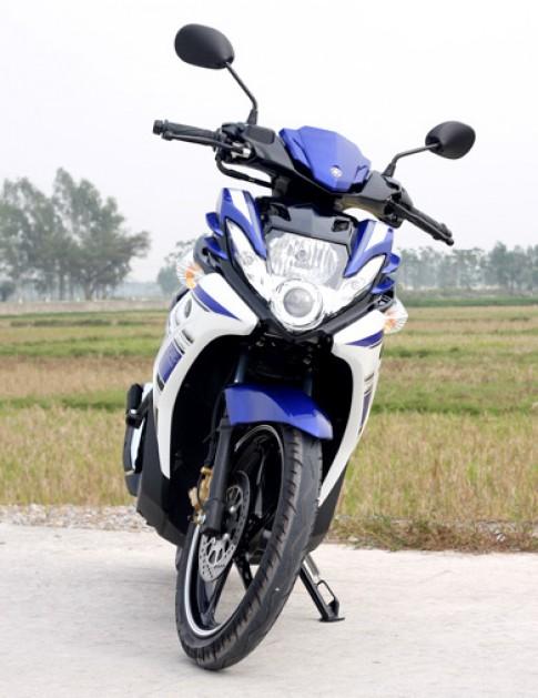 Phong cach the thao Yamaha Nouvo GP