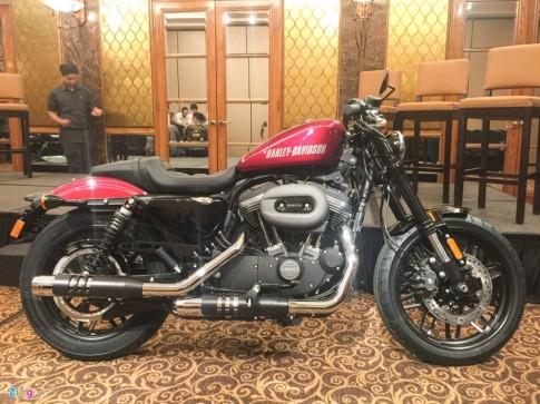 Ra mat Harley Davidson Roadster 1.200 phan khoi tai Viet Nam