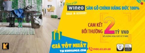 Sàn gỗ Wineo của Đức: Xu hướng mới trong việc lựa chọn vật liệu lát sàn.