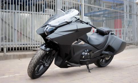 'Sieu xe tay ga' Honda NM4-02 ban 2016 xuat hien tai Ha Noi
