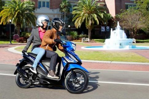 Suzuki Address 2015 - xe tay ga gia 1.300 USD