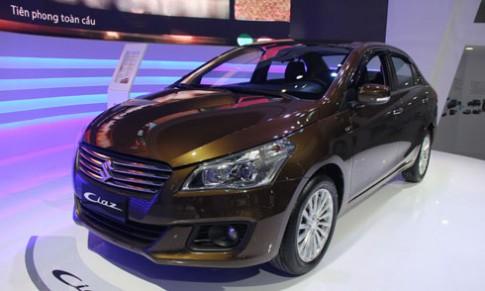 Suzuki Ciaz gia 580 trieu – canh tranh Toyota Vios tai Viet Nam